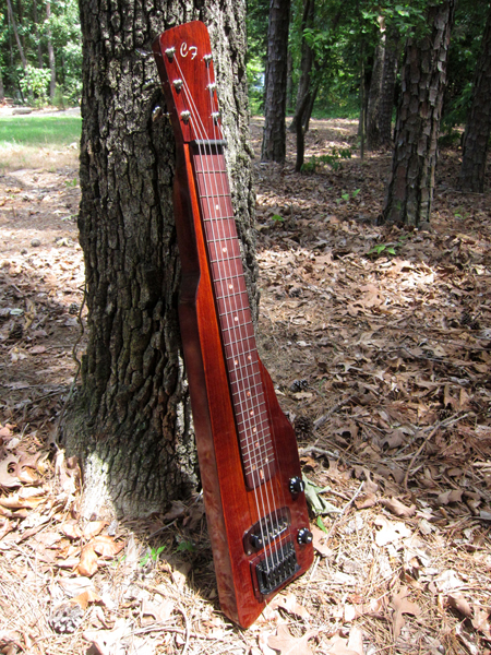 Lap Steel Guitar front